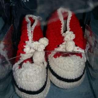 #MakinTebel sepatu rajut baby