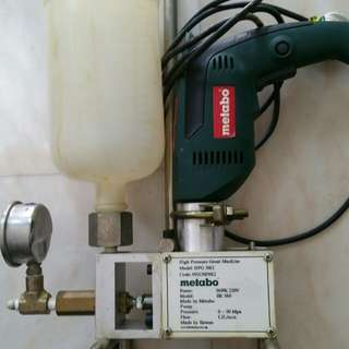 Pressure Grout Machine