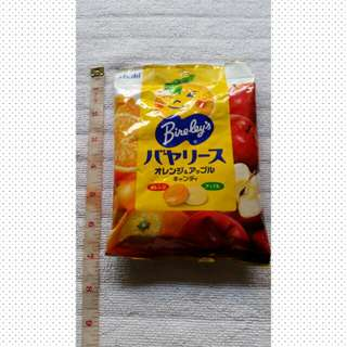 Sale.Asahi Bireleys Apple Orange Candy Japan