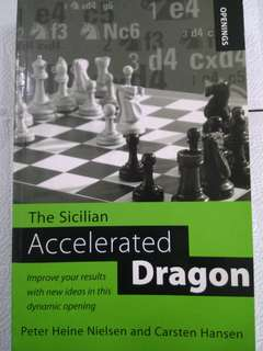 The Accelerated Dragon by Peter Heiner Nielsen and Carsten (Chess Book)