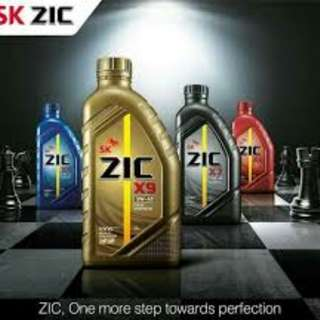 Zic synthetic motor oil