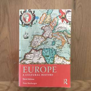 European Studies 100. Europe: A Cultural History, 3rd Edition