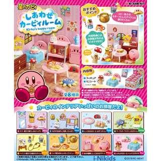 🇯🇵日本預購 - 原裝日版 RE-MENT - Kirby's Happy Room 星之卡比快樂房間 (全8種)