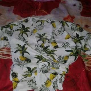 Kimono Pineapple Top