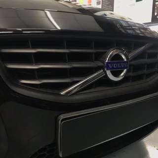 Plastidip Volvo grill