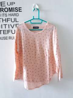 Tshirt Long sleeve adem fit to S