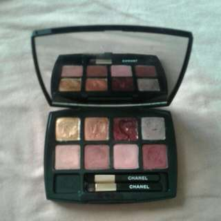 Chanel eyeshadow& lipstik