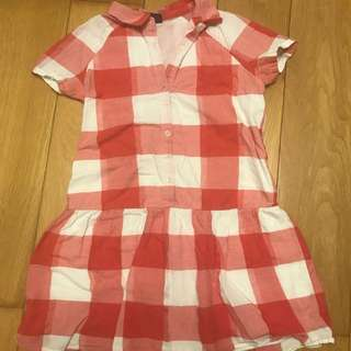 Gap gingham dress
