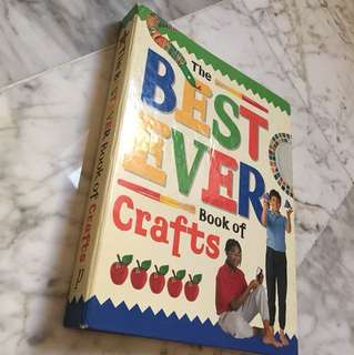 Hardcover Best Ever Crafts book
