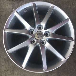 "Used 18"" Original Estima Rims"