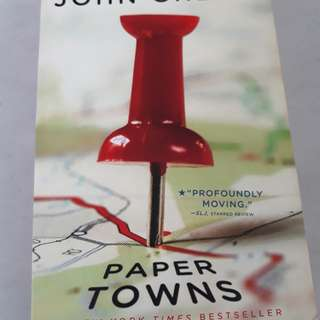 PAYDAY SALE! Paper Towns by John Green