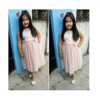 H&M kids pink tutu dress
