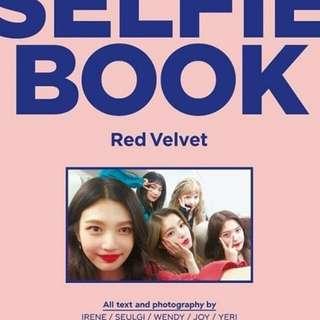 (PRE ORDER) RED VELVET SELFIE BOOK