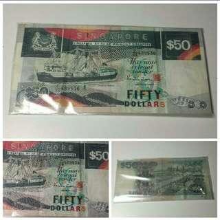 Old Grandpa's 50dollar Note (Ship Series)
