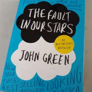 PAYDAY SALE!  The Fault in Our Stars (hardbound)