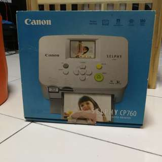 Canon Selphy CP760 (Printer)