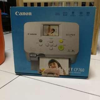 Canon Selphy CP760 (Printer)