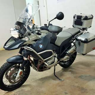 BMW R1200GS Adventure Reg date 23/04/2009 Mileage 53,000km 1 owner.
