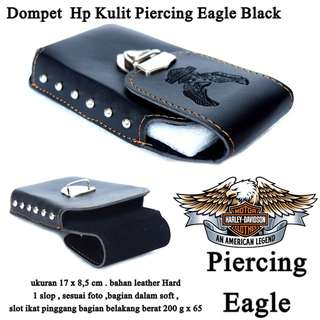 Dompet Pria Hp Piercing eagle black