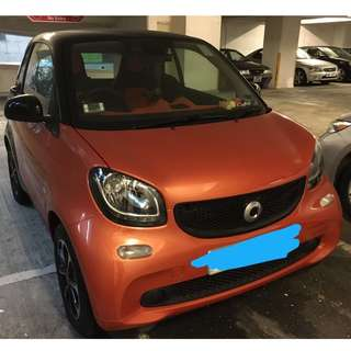 SMART FORTWO COUPE 2015