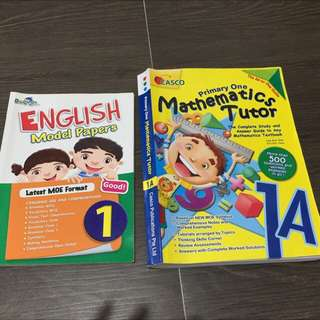P1 Assessment Books