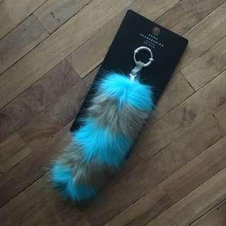 Zara Fur Tail Bag Charm