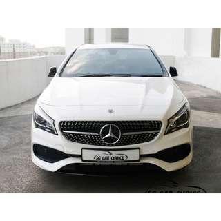 Mercedes Benz CLA-Class CLA180 AMG Line