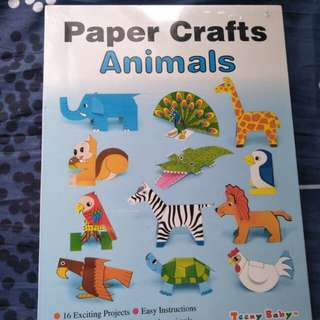 Paper Craft Animals for kids