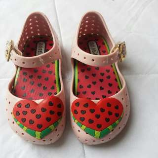 Mini Melissa Furadinha Watermelon Size 6