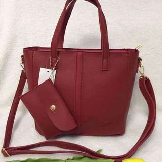 Kate spade Korean leather bag plain