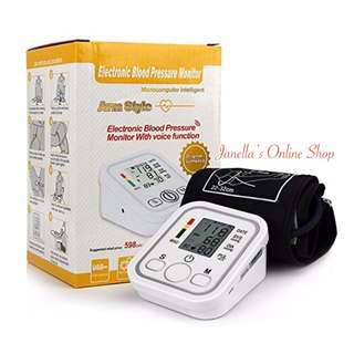 Electronic Blood Pressure Monitor (Arm Style)
