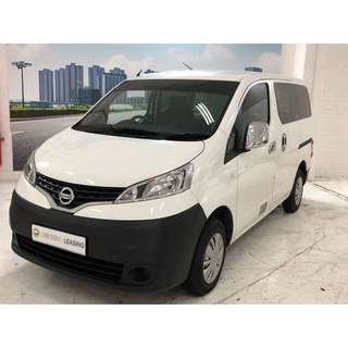 Latest Euro 6 Nissan NV200 1.6 Automatic. Comes With 4 Pieces Rear Glass Panel.	spacer Comes with rear sofa