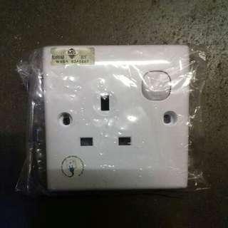 1 Gang Switch Socket Outlet
