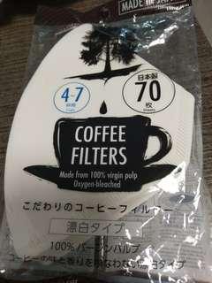 咖啡濾紙 日本制