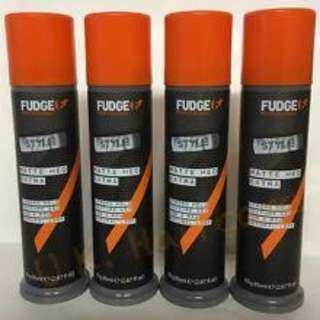 CHEAP 2@$33: ORIGINAL Fudge Matte Hed Extra Hair Clay Wax Strong Hold PACKAGING