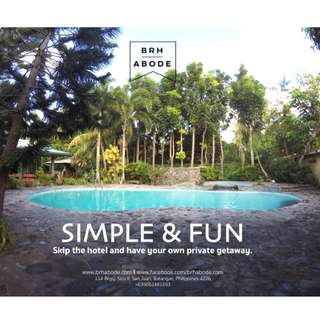 San Juan, Batangas Private Resort