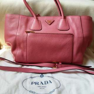 Preloved Prada Satchel Pink