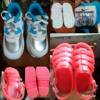 Nike and Mini Melissa