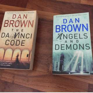 Dan Brown - The Da Vinci Code & Angels and Demons