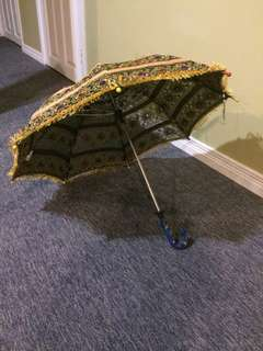 Decorative Fabric Mini Umbrella