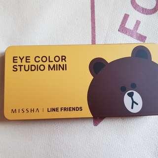 Missha brown eyeshadow