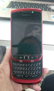 Jual hape bb torch red edition