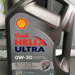 Shell Helix Ultra 0W30 ECT C2/C3 4L Engine Oil