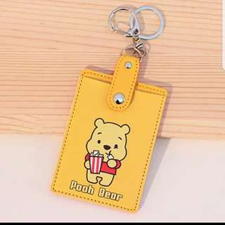 Winnie Pooh Card Holder cum Keychain