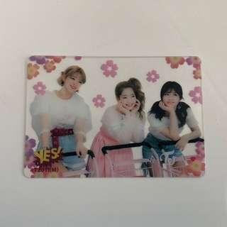 Twice Yes!專輯卡part2 半透卡