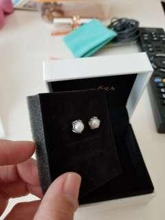 Pandora 耳環,90%新,不連盒