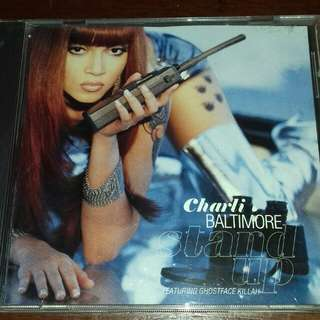 Charlie Baltimore Stand up ft Ghostface Killah USA pressing cd single used,  Rap RZA