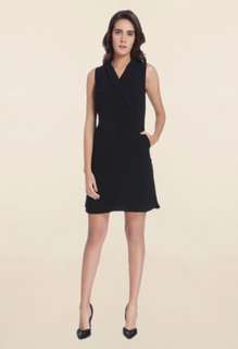 Vero moda black sleeveless dress sz s