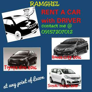 Rent a Car with driver