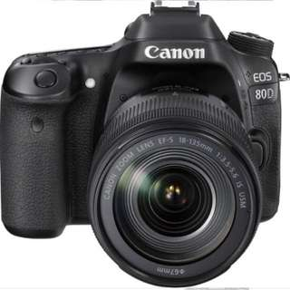 CANON DSLR 80D NEW ( BODY)